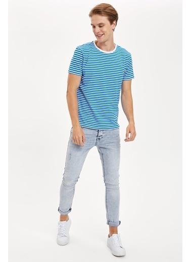 DeFacto Tişört Mavi